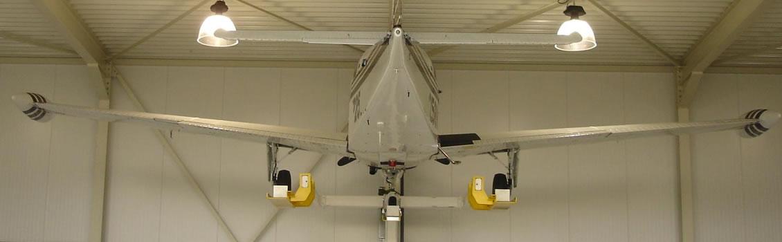hangar tools lift aircraft